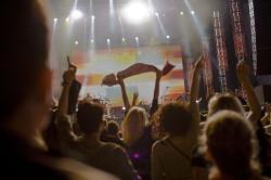 Według danych organizatora w koncercie uczestniczyło około 5 tysięcy osób, a to tylko przedsmak tego, co będzie dziać się na Placu Zebrań Ludowych podczas transmisji rogrywek Euro.