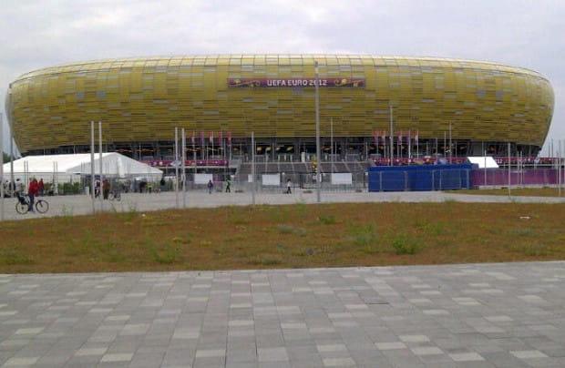 W niedzielę gdański stadion po raz pierwszy przyjmie gości turnieju Euro 2012.