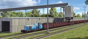 Terminal jest zaprojektowany w taki sposób, aby zapewnić wysoką wydajność przeładunkową dla ładunków masowych, głównie węgla i rudy żelaza.