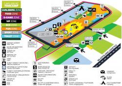 Zobacz szczegółową mapkę sopockiej strefy kibica.