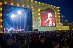 W koncercie wzięło udział ponad cztery tysiące osób. To niewiele - w strefie kibica zmieściłoby się nawet pięć razy więcej osób.