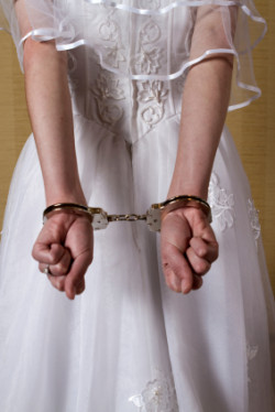 Para oszustów została zatrzymana na kilka dni przed ślubem.