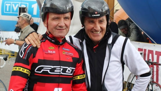 Duet Czesław Lang i Henryk Charucki