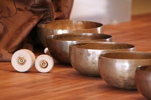 Misy tybetańskie są wykonane z dwunastu połączonych metali.