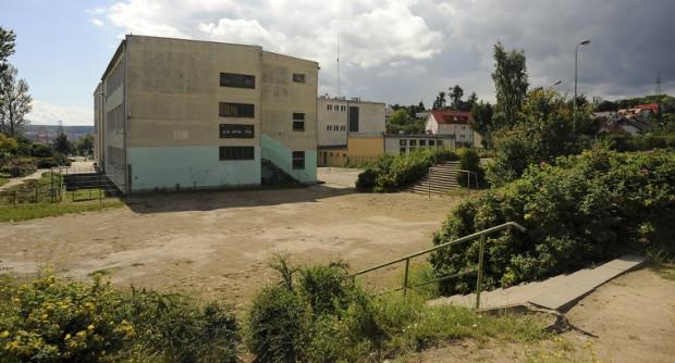 W tym miejscu ma powstać nowa sala gimnastyczna.