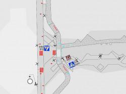 Najbardziej zatłoczone miejsce w pasie nadmorskim - dojście do molo w Brzeźnie. Tam drogowcy zlikwidują zakazy i poprawią lokalizację znaków informujących o przejściu dla pieszych.