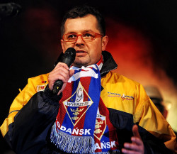 Maciej Polny, prezes GKS Wybrzeże.