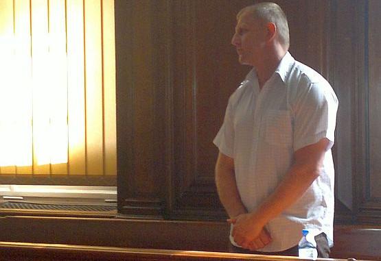 Czesław Kowalczyk (zgodził się na publikację swojego wizerunku i danych osobowych) podczas ogłaszania wyroku.