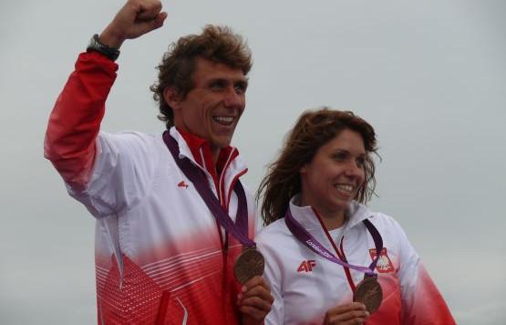 Trzeci i czwarty medal olimpijski w historii polskiego żeglarstwa zdobyli gdańszczanin Przemysław Miarczyński i Zofia Noceti-Klepacka z Warszawy.