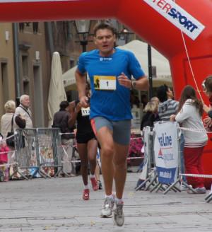 Adam Korol w Biegu Westerplatte brał udział po raz drugi i o 19 sekund poprawił swój wynik z 2009 roku.