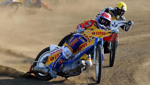 Nicki Pedersen w Malilli wygrał tyko jeden bieg, oby we Wrocławiu przyjeżdżał zawsze z przodu