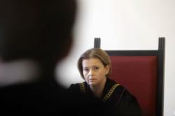 Nz. sędzia Iwona Błaszczyk-Sobczyk, która 12 września poprowadziła rozprawę, podczas której sąd odrzucił wniosek obrońcy Marcina P. o uchylenie aresztu nałożonego na byłego szefa Amber Gold.