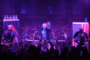 Soulfly w nowym składzie jest u szczytu formy. Od lewej: basista Tony Campos, perkusista David Kinkade, wokalista Max Cavalera oraz gitarzysta Marc Rizzo.