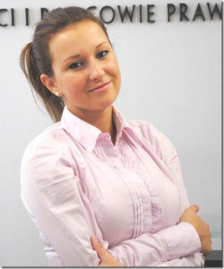 Agata Mikucka, aplikantka adwokacka