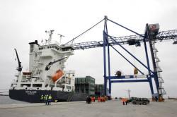 """Zaczęło się od kontenerowca """"Götaland"""" o pojemności 822 TEU."""