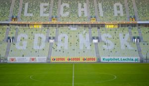 Czy z tym szyldem piłkarzom Lechii będzie się grać raźniej na PGE Arenie?