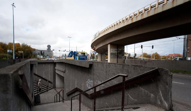 Nie tylko tunele pod Podwalem Przedmiejskim, ale też estakada nad Węzłem Unii Europejskiej powinna zniknąć z centrum miasta.