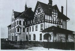 Tak wyglądał niegdyś budynek Gminy Ewangelickiej wzniesiony w 1904 r.