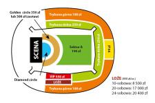Ceny biletów i sektory na koncert Bon Jovi.