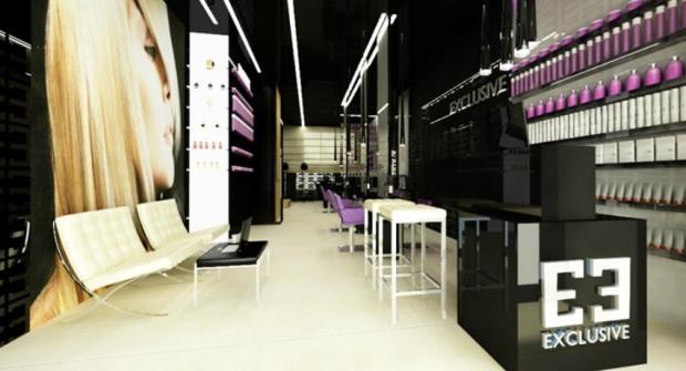 Pracownia projektowa Red Tab otrzymała zlecenie stworzenia ekskluzywnego i eleganckiego clubu fryzjerskiego Exclusive w Gdyni.