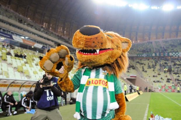Gdański Lew zajął trzecie miejsce w głosowaniu na najlepszą maskotkę ekstraklasy.