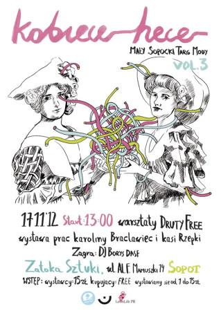 W sobotę na Kobiecych Hecach będzie można kupić ciekawe ubrania, ale również wziąć udział np. w warsztatach robienia na drutach.