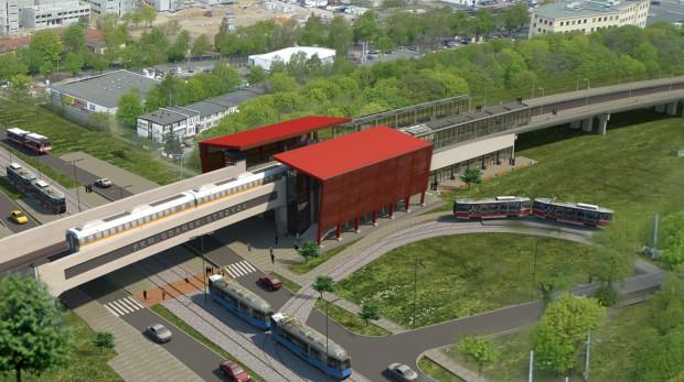 Projekt stacji Strzyża na trasie Pomorskiej Kolei Metropolitalnej - zwycięzcy kategorii Zielona Fala Trójmiasta.
