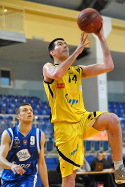 Kamil Piechaczek był jedną z czołowych postaci tego dnia w ekipie rezerw Trefla