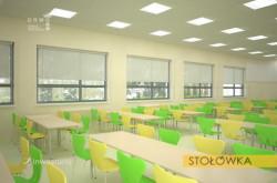 Stołówka w szkole w Koszkach.