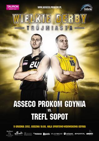 Na Wielkie Derby Trójmiasta zapraszają wspólnie Przemysław Zamojski i Łukasz Koszarek