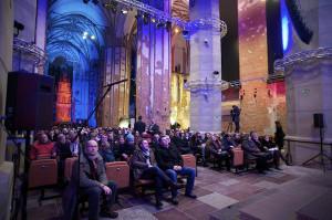 Problemem była na pewno niska temperatura podczas koncertów, co zrozumiałe o tej porze roku, ale publiczność była wyrozumiała i zamiast narzekać, doceniała walory akustyczne kościoła św. Jana.