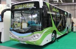 Autobus City Smile Electric 10E przez najbliższe 2 dni będzie można spotkać na ulicach Gdańska.