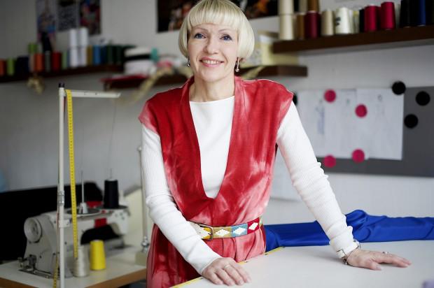 Irina Panicheva w swoim gdyńskim studio.