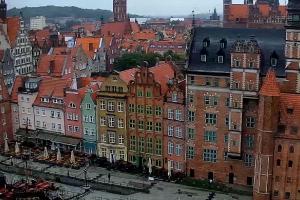 Widok na Stare Miasto i Motławę