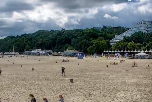 Plaża i marina