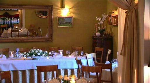 Restauracja w Pałacu Opatów
