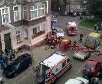 Wypadek na Wajdeloty w Gda�sku