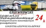 Transport Ciężarowy, Przewozy Specjalistyczne