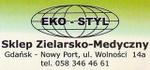 Eko-Styl  Sklep Zielarsko-Medyczny, Zdrowa Żywność