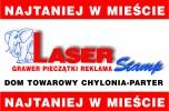 Laser Stamp PIECZ�TKI GRAWER REKLAMA