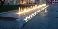Fontanna na Placu Przyjaciół Sopotu